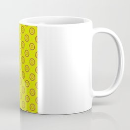 Dotted Flowers Coffee Mug