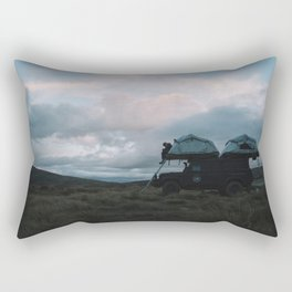 Mountain Camp, NZ Rectangular Pillow