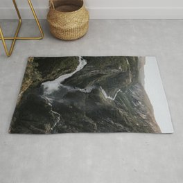 Voringsfossen Waterfall - Landscape and Nature Photography Rug