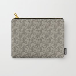 Abstract Geometrical Triangle Patterns 2 Benjamin Moore 2019 Trending Color Pashmina Beige AF-100 Carry-All Pouch