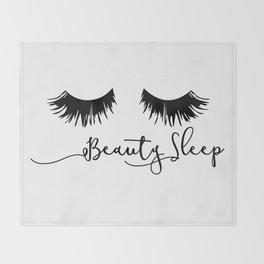 Beauty Sleep Throw Blanket