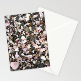 Pinks and pebbles Stationery Cards