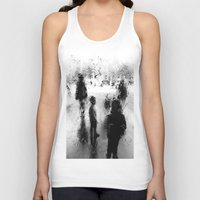 street Tank Tops featuring Street by Hipsterdirtbag
