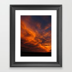 Ghost Riders in the Sky Framed Art Print