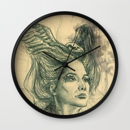 Past lives | Future flights Wall Clock