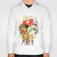 pixar Hoodies featuring Disney Pixar Play Parade - Incredibles Unit by Joey Noble