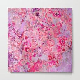 Pink Sugar Metal Print