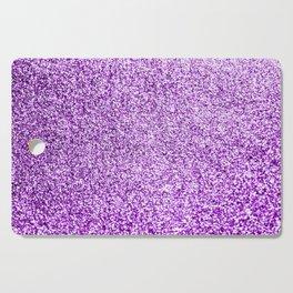 Purple glittery Cutting Board