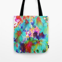 oriental Tote Bags featuring Oriental Happiness by Aloke Design