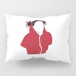 Ilana Wexler wearing a dog hoodie Pillow Sham