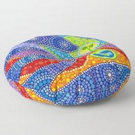 Earth Keeper Floor Pillow