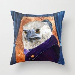 Everett Eaglesworth III, Esq. Throw Pillow