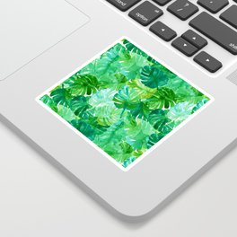 Welcome to the Jungle Palm Sticker