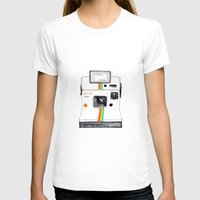 polaroid T-shirts featuring Polaroid by Mariam Tronchoni
