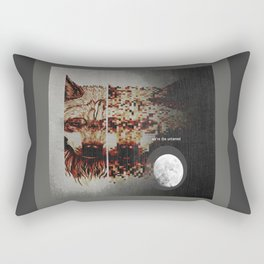 Alpha Moon Rectangular Pillow