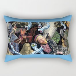 Reverie In The Thirteenth Hour Rectangular Pillow