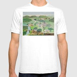 Anna Mary Robertson 'Grandma' Moses The Old Oaken Bucket American Folk Art T-shirt