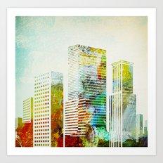 city wash I Art Print