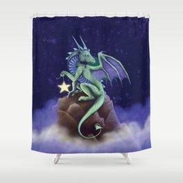 Dragon Star Shower Curtain