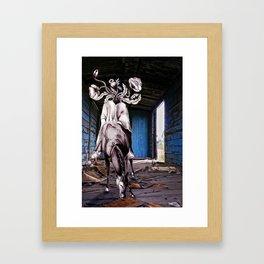 Bucéfalo Framed Art Print