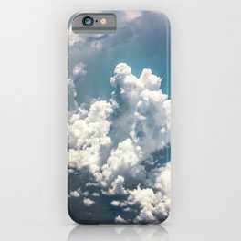 Dreamy clouds iPhone Case
