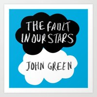 tfios Art Prints featuring TFiOS by Hoeroine
