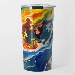 Deep Sea Rainbow Travel Mug