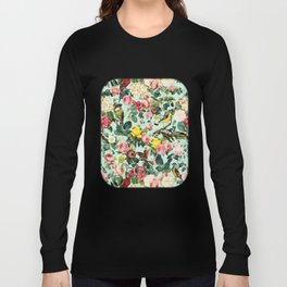Floral and Birds III Long Sleeve T-shirt