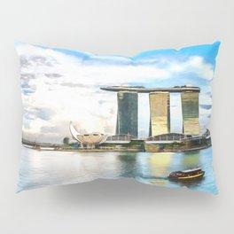 Hotel Marina Bay Sands and ArtScience Museum, Singapore Pillow Sham
