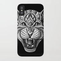 leopard iPhone & iPod Cases featuring Leopard by BIOWORKZ