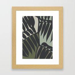 Green Vine Framed Art Print