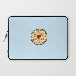 Jammy Dodger British Biscuit Laptop Sleeve
