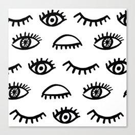 Magic Eyes Canvas Print