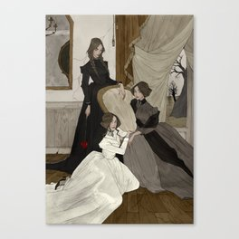 The Fox Sisters Canvas Print