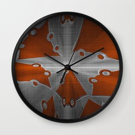 Metal Seperation Wall Clock