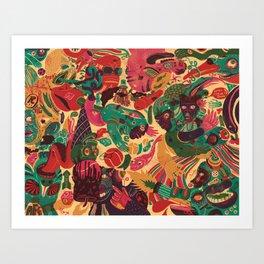 Sense Improvisation Art Print