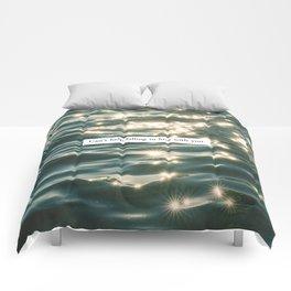 FALLING IN LOVE. Comforters