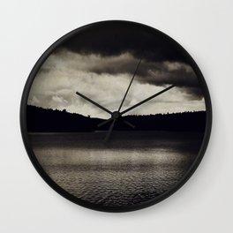 Stormy Days Wall Clock