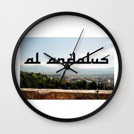 Al Andalus Wall Clock