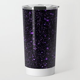 Purple Galaxy Space StarS Travel Mug
