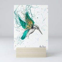 Kingfisher Skies Mini Art Print