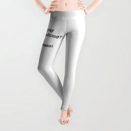 Do you pray before bedtime? Leggings
