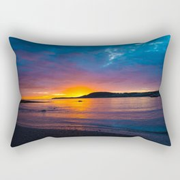 East Coast Sunset Rectangular Pillow