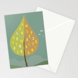 Alphapet Tree Stationery Cards