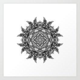 Mandala0030 Art Print