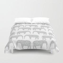 Alabama bama crimson tide elephant state college university pattern footabll Duvet Cover