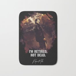 I Am Retired, Not Dead Bath Mat