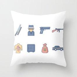 Yakuza Gangster Throw Pillow