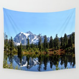 Mount Shuksan on a Sunny Day Wall Tapestry