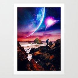 Worlds Apart Art Print